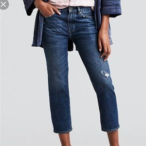 Levi's Made and Crafted Slim Crop Jean
